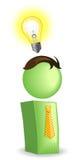Idea bulb. Vector illustration of Idea bulb Royalty Free Stock Photo