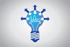 Idea bulb Royalty Free Stock Image