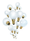 Idea bulbs bubbling Stock Photography
