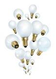 Idea bulbs bubbling Stock Photography