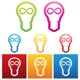 Idea bulbs Royalty Free Stock Photo