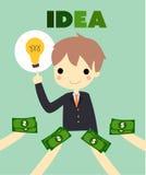 Idea business Royalty Free Stock Photos