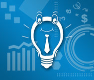 Idea Business Theme Background Royalty Free Stock Photo