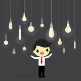 Idea in business world Royalty Free Stock Image