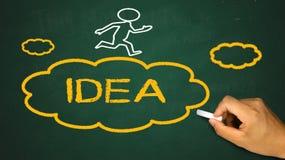 Idea cloud Royalty Free Stock Photos