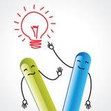Idea communication Royalty Free Stock Photo