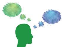 Idea, communication Stock Image