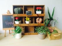 Idea concept art garden home decorative Stock Photo