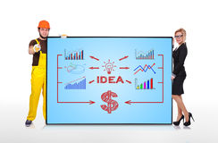 Idea concept Royalty Free Stock Photography