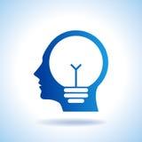 Idea concept with human head Stock Photos