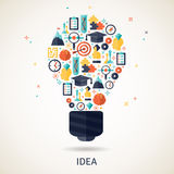 Idea Concept Illustration Royalty Free Stock Images