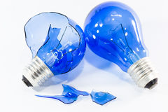 Idea concept with the light bulbs Royalty Free Stock Photography