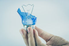 Idea concept with the light bulbs Royalty Free Stock Photo