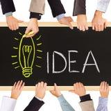 Idea concept Royalty Free Stock Photos