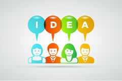 Idea concept Stock Photos