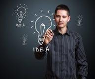 Idea concept Royalty Free Stock Photo