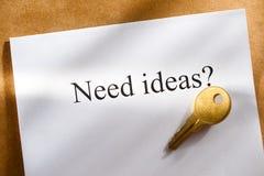 Idea conception Stock Images