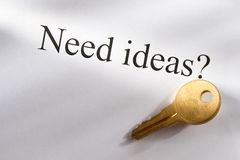 Idea conception Royalty Free Stock Image