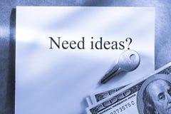 Idea conception Stock Photo