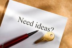 Idea conception Royalty Free Stock Photos