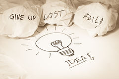 Idea concepts Stock Images