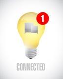 Idea connected communication concept message. Stock Photos