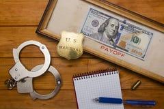 Idea corruption Royalty Free Stock Photos