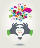 Idea creativa. illustrazione vettoriale
