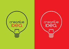 Idea creativa Immagini Stock
