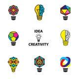 Idea creativa del asunto ilustración del vector