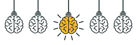 Idea, creative concept sign icon - vector royalty free illustration