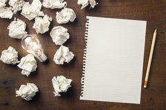 Idea de comenzar a escribir imagen de archivo libre de regalías
