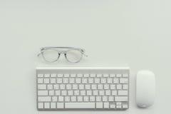 Idea de escritorio de trabajo del concepto Foto de archivo libre de regalías