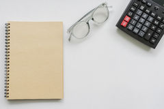 Idea de escritorio de trabajo del concepto Fotografía de archivo libre de regalías