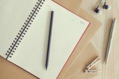 Idea de escritorio de trabajo del concepto Fotografía de archivo