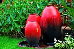 Idea de la decoración para el jardín Imagenes de archivo