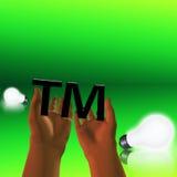 Idea de la marca Imagen de archivo libre de regalías