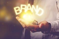 Idea de la marca Foto de archivo libre de regalías