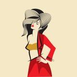 Idea de la moda ilustración del vector