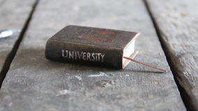 Idea de la universidad almacen de metraje de vídeo