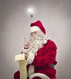 Idea de Papá Noel Foto de archivo libre de regalías