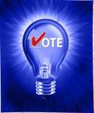 Idea de votación Imágenes de archivo libres de regalías
