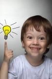 Idea dei bambini Fotografia Stock