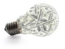 Idea dei soldi Fotografie Stock