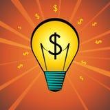 Idea dei soldi Fotografia Stock Libera da Diritti
