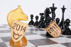 Idea del ajedrez Fotografía de archivo