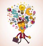 Idea del asunto libre illustration