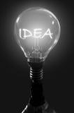 Idea del bulbo Fotografía de archivo libre de regalías