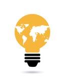 Idea del bulbo stock de ilustración