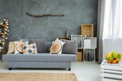 Idea del diseño del hogar del italiano del estuco Fotos de archivo libres de regalías